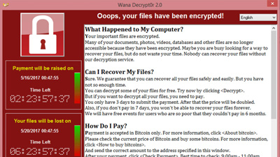 "Virus ""Wannacry"""