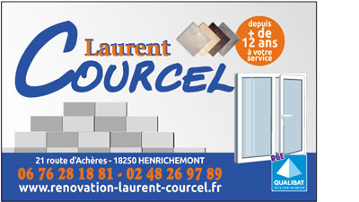 "Site vitrine ""Rénovation Laurent Courcel"""